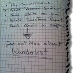 My ToDo Lists Don't Stand A Chance With Wunderlist
