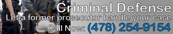 Criminal Defense - let as former prosecutor handle your case