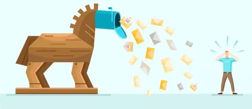 ahorra comprando, no te hagas sumergir de mail. Un caballo de troya que sumerge de email un pobre tio