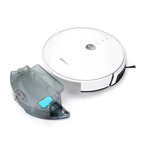 alfawise robot aspiratore bianco in offerta