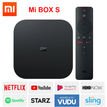 Xiaomi mi box S, smart tv box android 8,1 4 K HDR Quad Core 2G 8G WIFI Googl[...] (1)