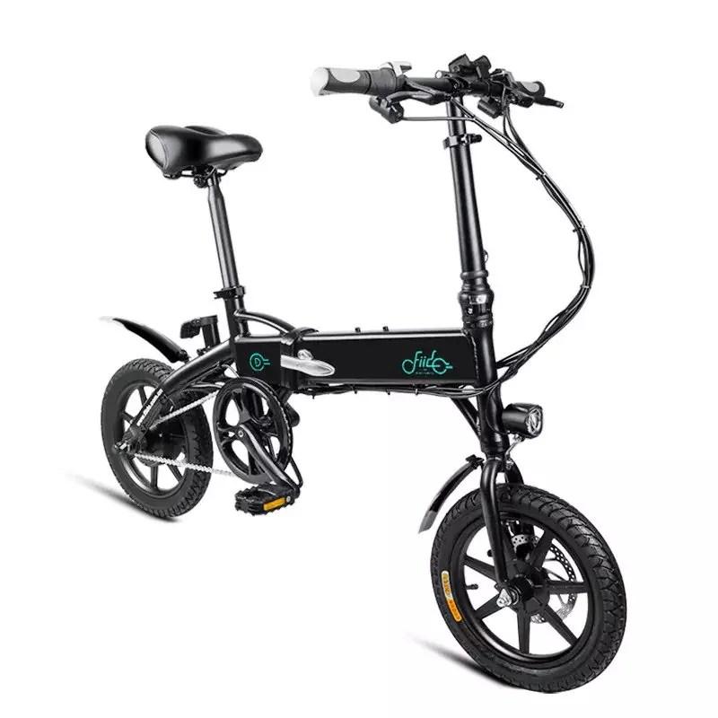 fiido d1 bici elettrica nera in offerta