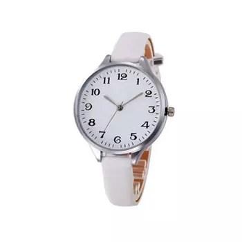 orologio donna cinturino in pelle bianco amazon