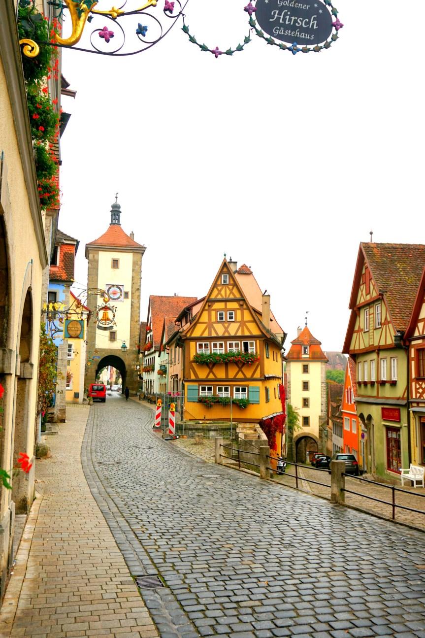 Travel: Rothenberg Ob Der Tauber, Germany