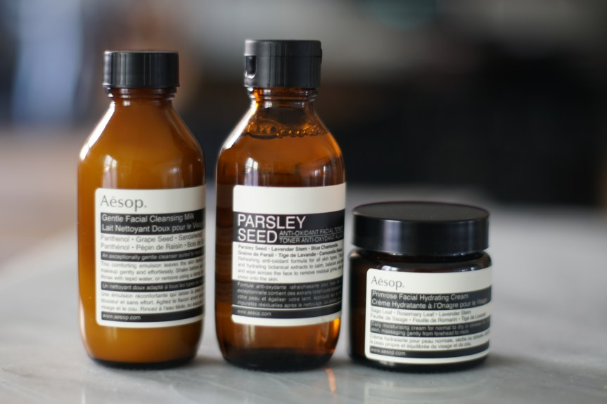 Less Waste: Facial Skin Care with Aesop