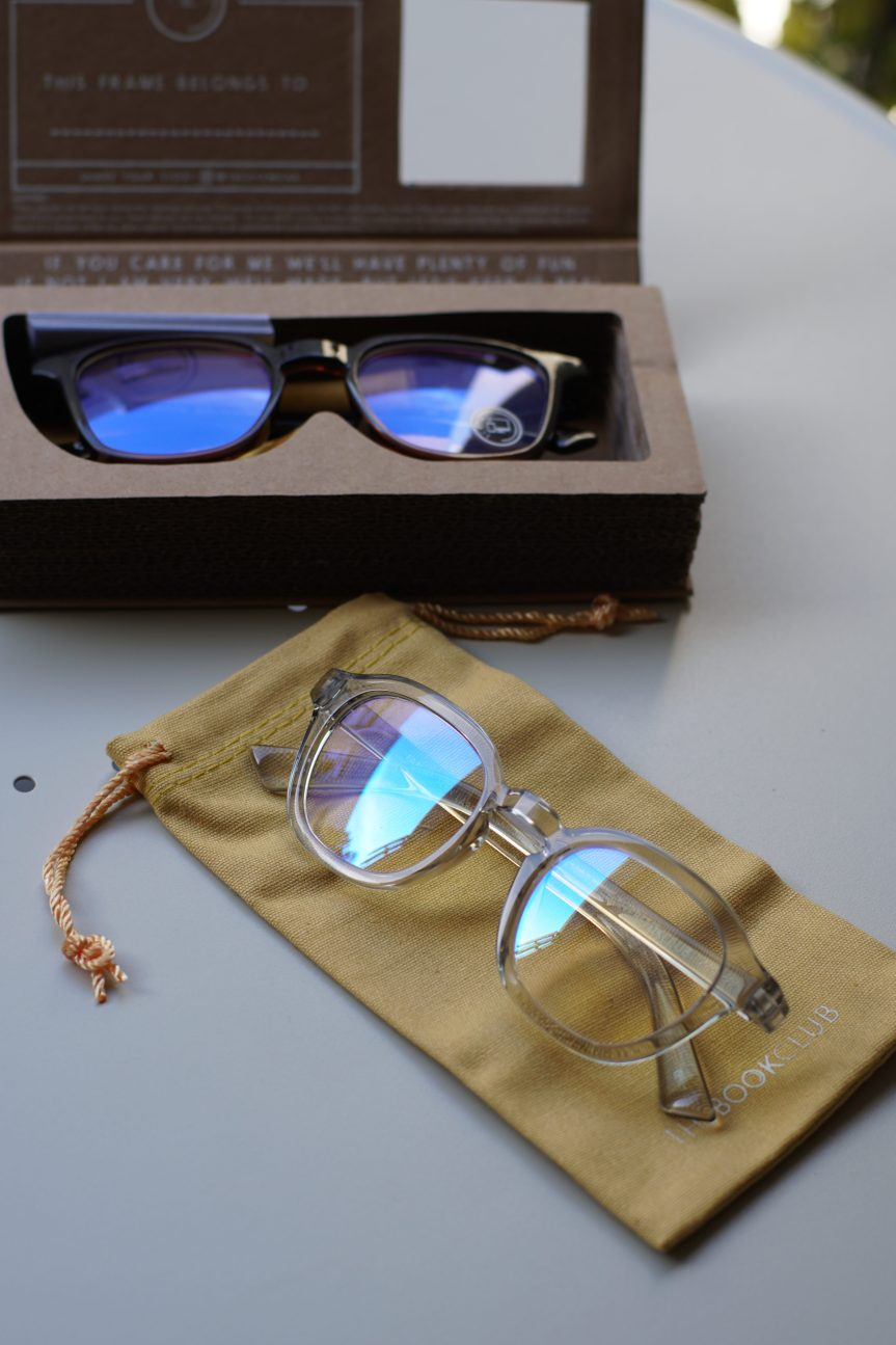 Simple Things: Blue-Light Blockers by The Book Club Eyewear