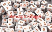 JS Random Integers