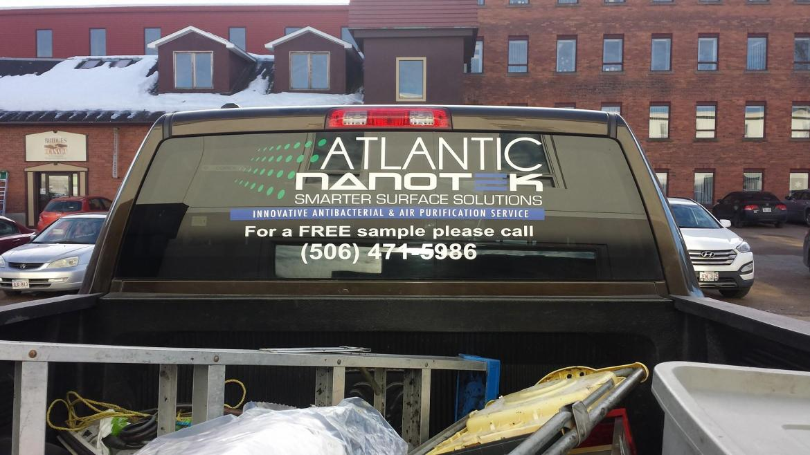 Atlantic NanoTek Vehicle Window Perf