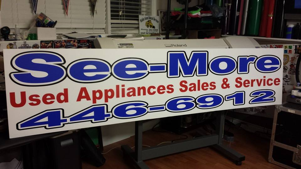 See More Panel Sign