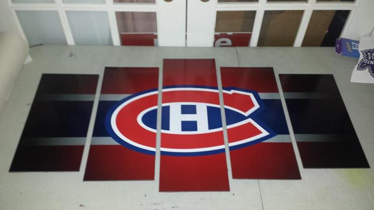 Montreal Canadians Wall Mural