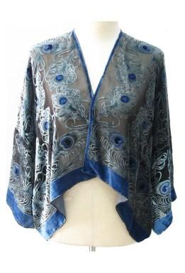 Art Deco Peacock Kimono