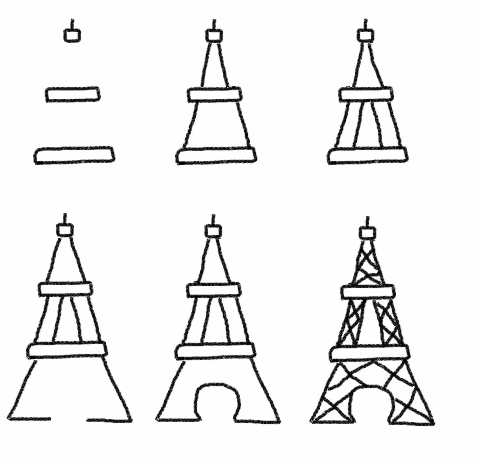 Bastille Day Cookies The Eiffel Tower And Fireworks On