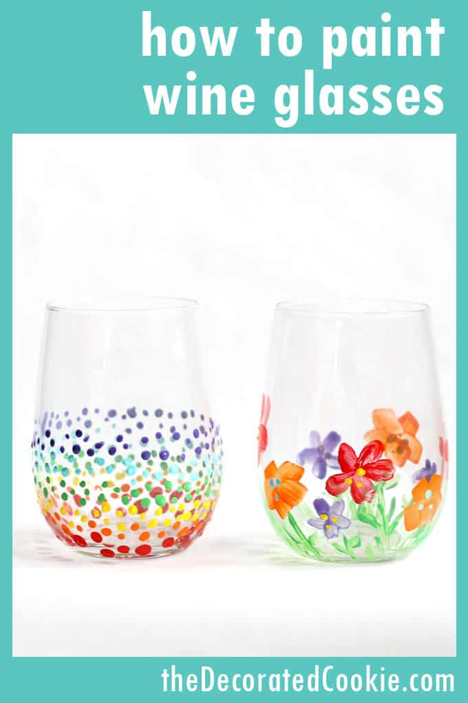 Glass Cup Painting : glass, painting, GLASS, PAINTING, How-tos, Painted, Glass, Ideas.