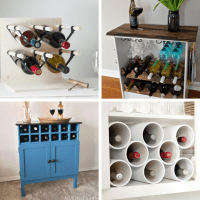 WINE RACK: Roundup of 24 awesome DIY wine racks, home ...