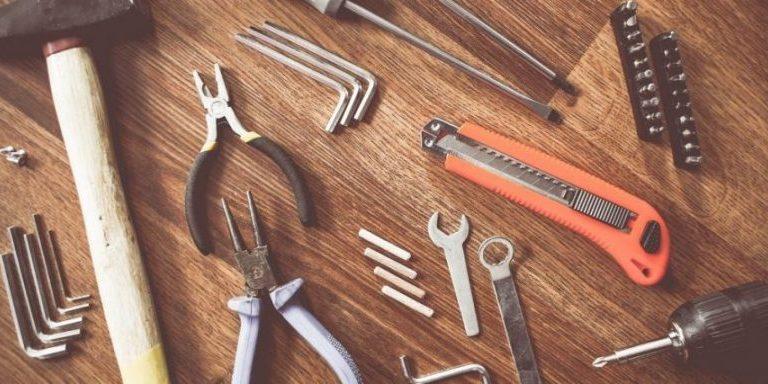 Juiste gereedschappen in huis halen