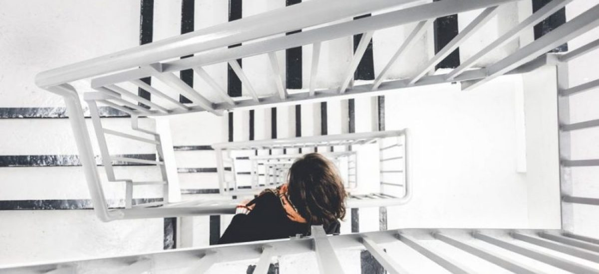 4x Materialen voor een trap