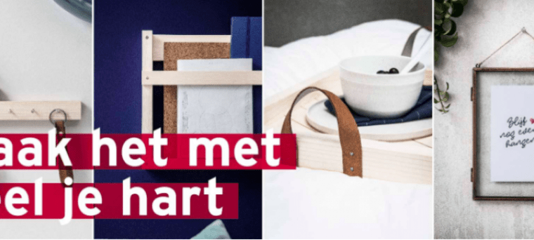Do It Yourself met de Gamma valentijnsspijkers