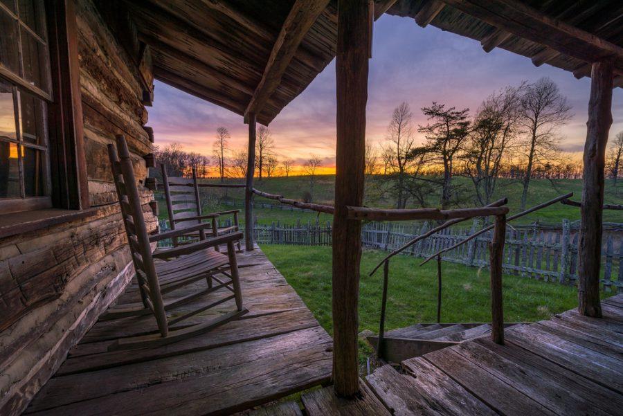 Haal binnen naar buiten met een veranda