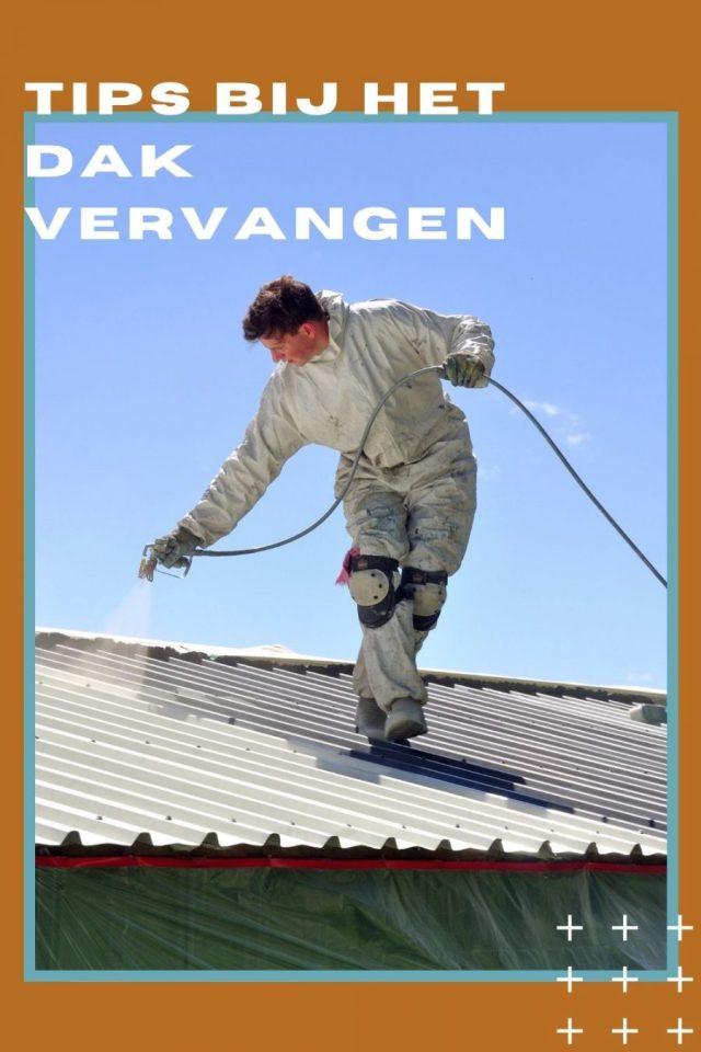 Tips bij het dak vervangen