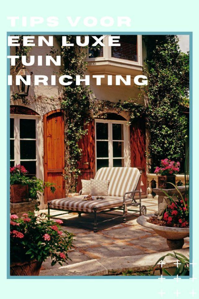 luxe tuin inrichting