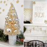 """Merry & Bright"" Mantel"