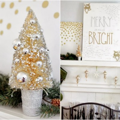 Merry and Bright Art for The Mantel