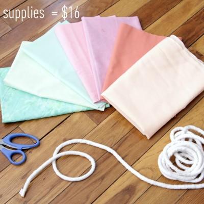 DIY: Make A Fabric Banner
