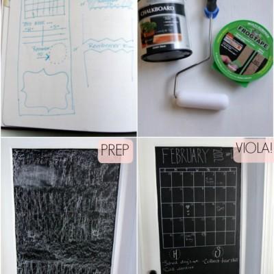 DIY: Chalk Paint Door