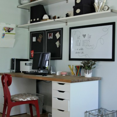 Our Ikea Office Makeover
