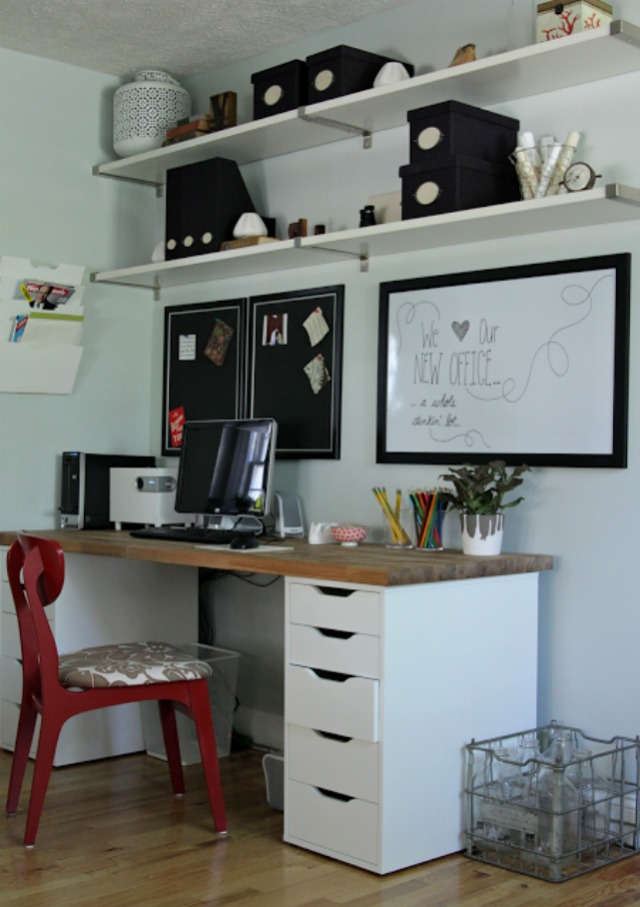Our Ikea Office Makeover Decor Fix