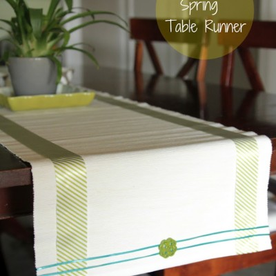 DIY: Spring Table Runner