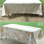 Painted Table Cloth