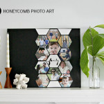 Honeycomb Photo Art