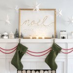 Scandinavian Mantel
