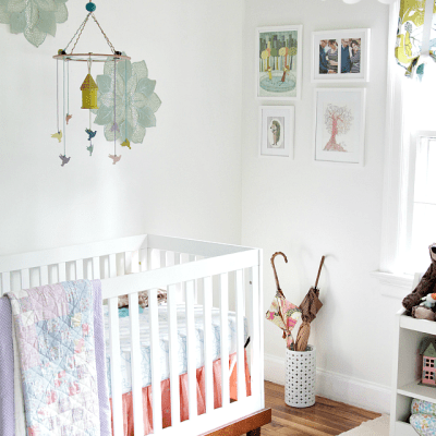 Gemma's Nursery & Messy Parenthood