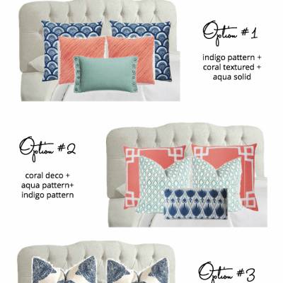 Throw Pillow Combinations for The Bedroom