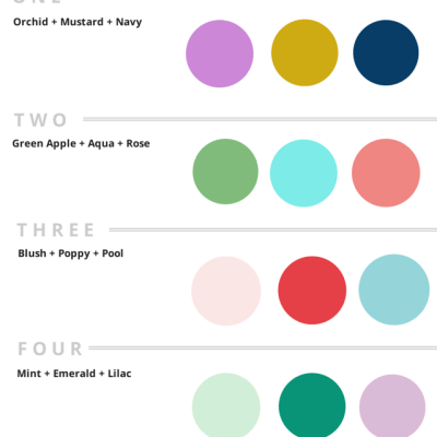 Five Color Schemes for a Girl Nursery