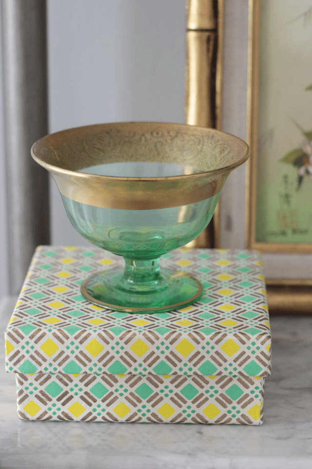 Family heirlooms mixed with new items | Decor Fix