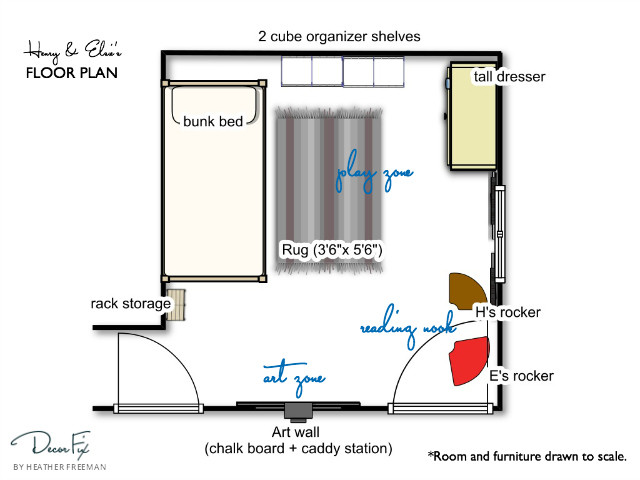 H&E Floorplan