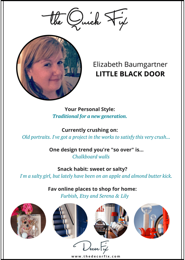 """The Quick Fix"" with Little Black Door"