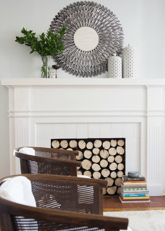 The Evolution of My Mantel |Decor Fix