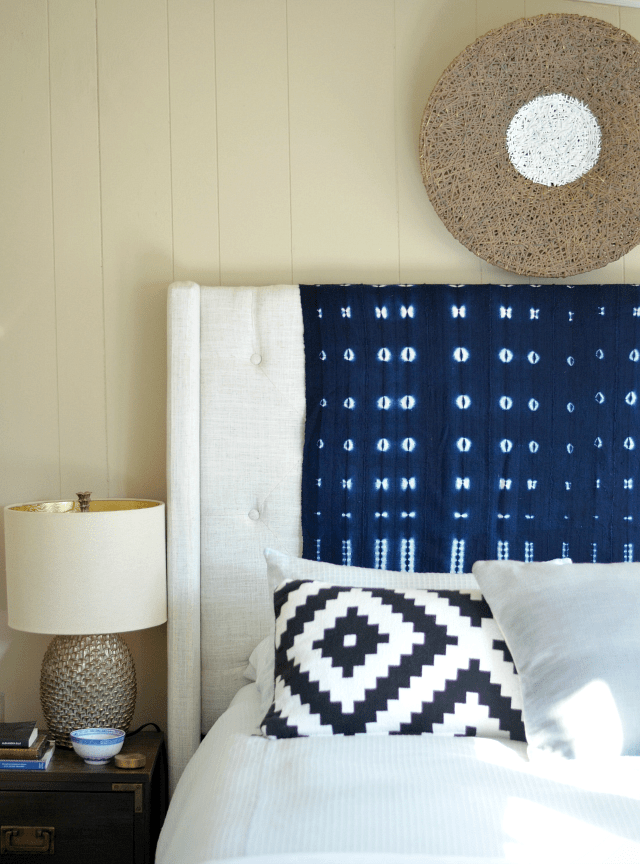 The cure for a boring headboard