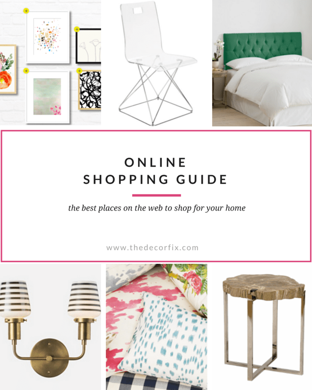 Best places to shop online for your home!