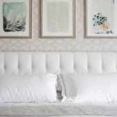 Serene master bedroom   The Decor Fix