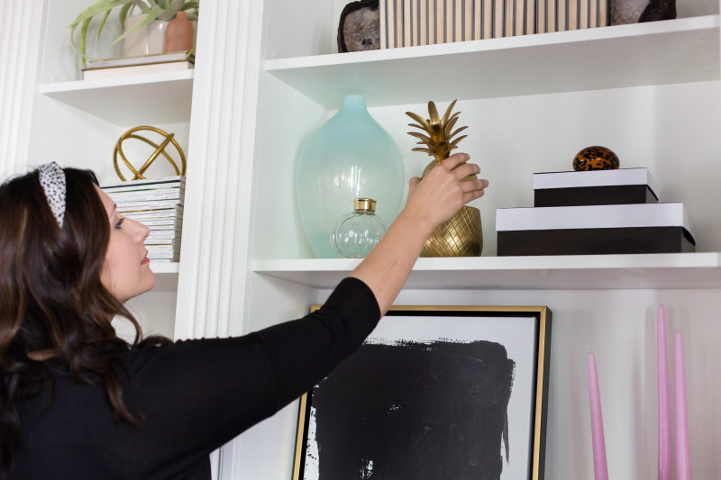 bookshelf styling class | The Decor Fix