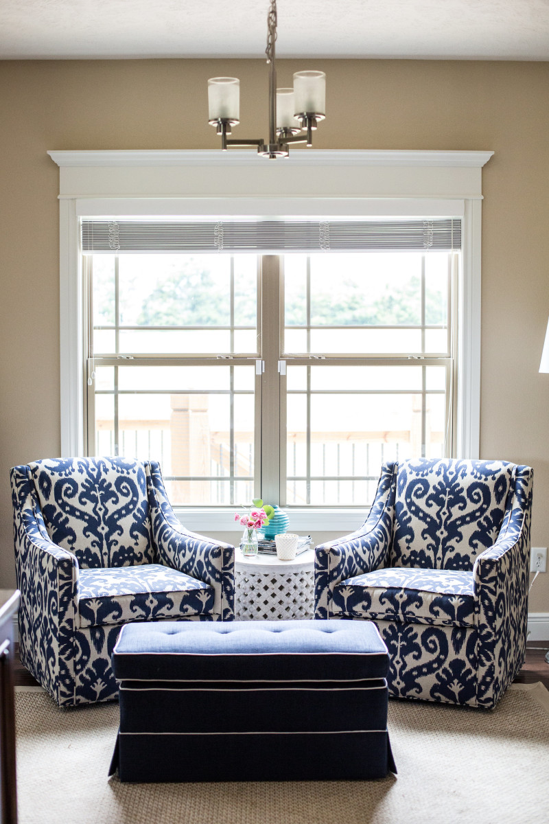 How to decorate a cohesive open concept room   The Decor Fix