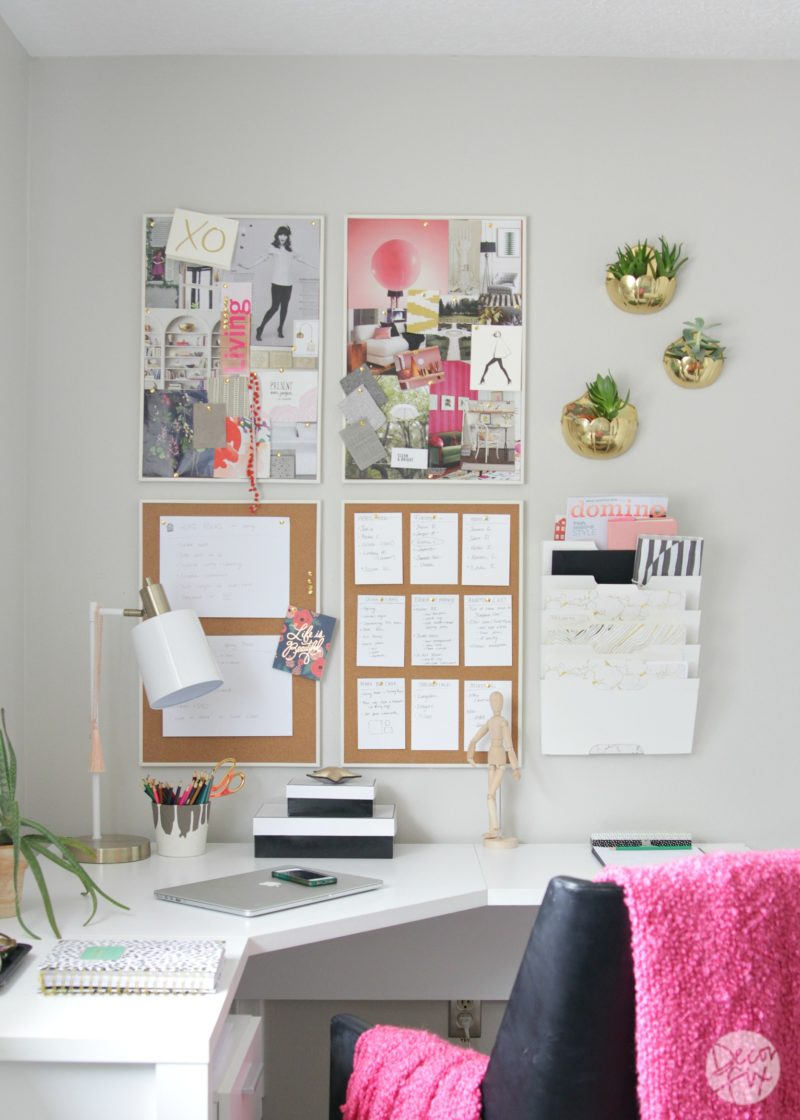 Gorgeous home office makeover | The Decor Fix