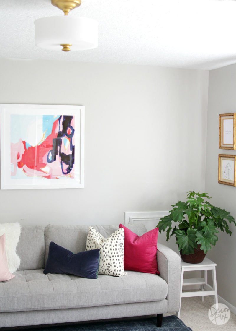 Gorgeous home office makeover   The Decor Fix