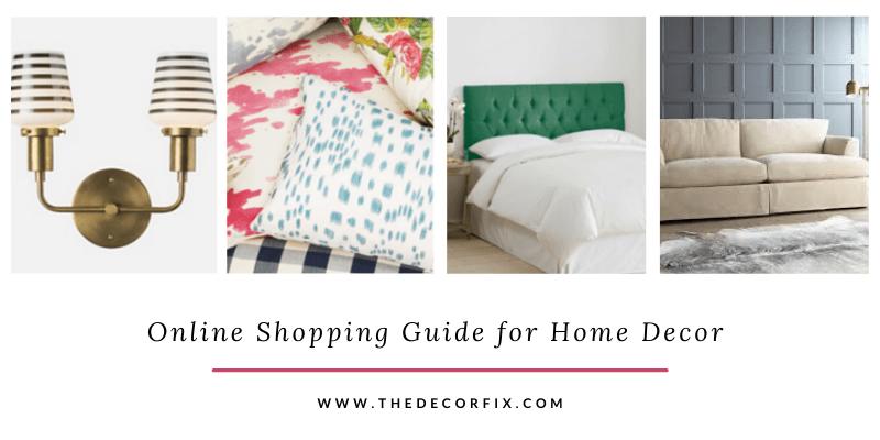 Online Shopping Guide Home Decor