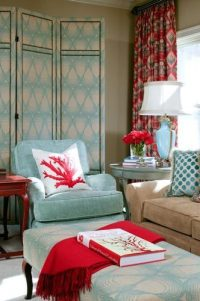 Turquoise + Red - The Decorologist